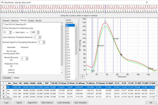 applications - bp-analysis-setup