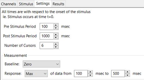 ERP settings