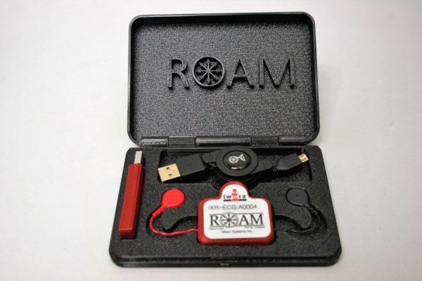 1 Channel ROAM wireless ECG/EMG recorder