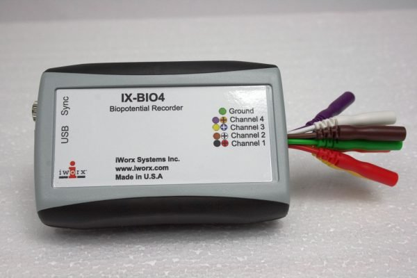 IX-BIO4 4 channel biopotential recorder
