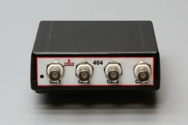 ix-404 4 channel single ended data recorder